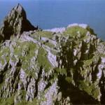 Vista Aérea de Skellig MikelCrédito: cabovolo