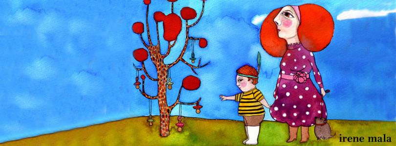 El árbol de los chupetes de Sevilla Crédito: Irene Mala