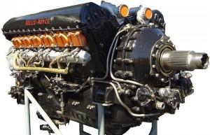 Rolls Royce Merlin Crédito: Wikimedia Commons