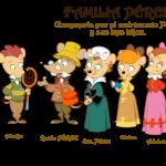 Ratón Perez y familia