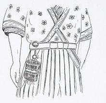 Representación de netsuke Crédito: wikimedia commons