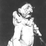 Marioneta Polichinela, S.XVIII Crédito: Biblioteca virtual Cervantes