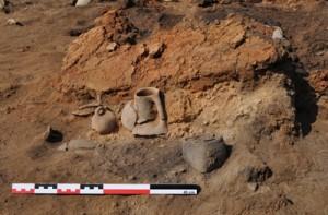 Imagen de la excavación