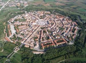 Vista aérea de Palmanova
