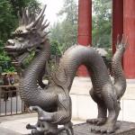Escultura dragón chino Crédito; Oldcivilizations's