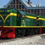 Locomotora diesel Crédito: museodelferrocarrildemadrid