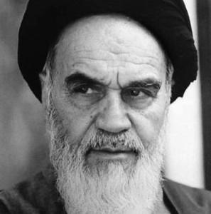 El Ayatolá Jomeini.