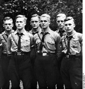 El partido Nazi como paradigma de la violencia política. Fuente: Wikipedia. com