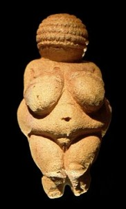 Venus de Willendorf Crédito: Wikimedia commons